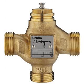 Трехходовой седельный клапан HERZ 4037