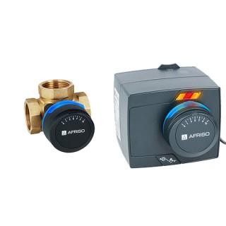 Комплект трехходовой клапан электропривод AFRISO ProClick