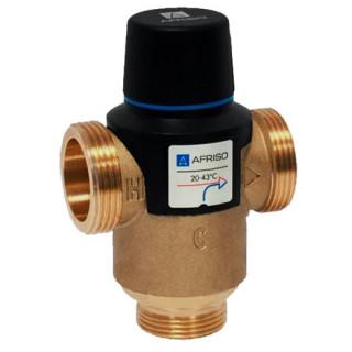 Трехходовой термостатический  смесительный клапан AFRISO ATM  761 +20...+43*С