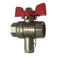 Кран для установки термодатчика