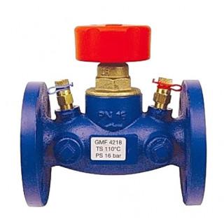 Фланцевый балансировочный клапан HERZ STROMAX-GMF 4218