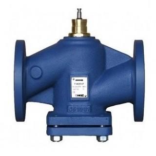 Проходной фланцевый клапан HERZ F 4035 PN 16